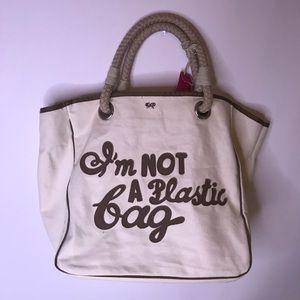 "NWT Anya Hindmarch London ""I'm Not A Plastic Bag"""